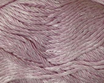 Dalegarn Svale cotton/viscose/silk blend DK weight yarn (4612 Pink)