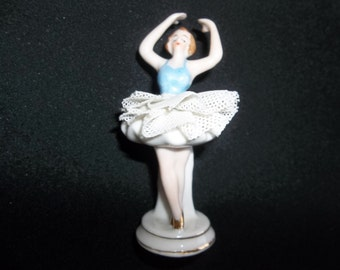 Occupied Japan Porcelain  Figurine - Ballerina - marked occupied Japan