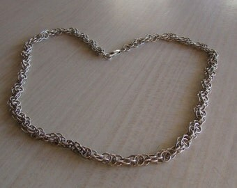 Handcrafted Sterling Silver Chain. 18 3/4""