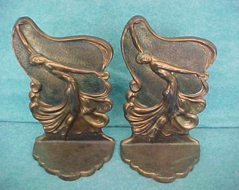 Bookends Pair Flamenco Dancers By Jeanne Drucklieb