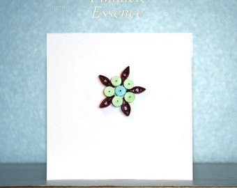 Custom Made Quilled Cards