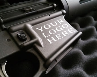 "Magwell Decal - (CREATE YOUR OWN)  1.5"" x 1.5"""