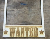 Wanted Sign Photo Booth Prop