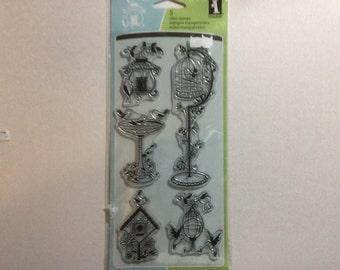 Inkadinkado For the Birds stamp set