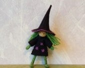 small witch bendy doll dressed