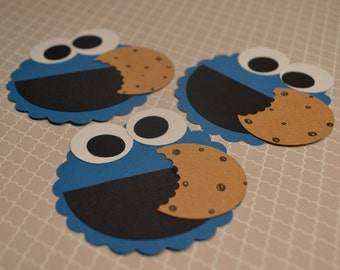 Cookie Monster Faces