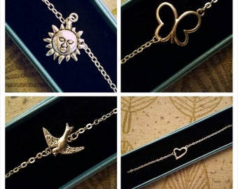 Charm Anklet (Various Styles)