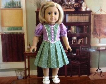 American Girl 1940's Dress