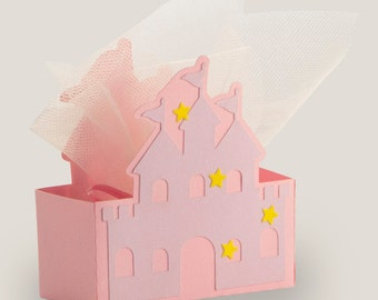 "Favor box ""Castle"""