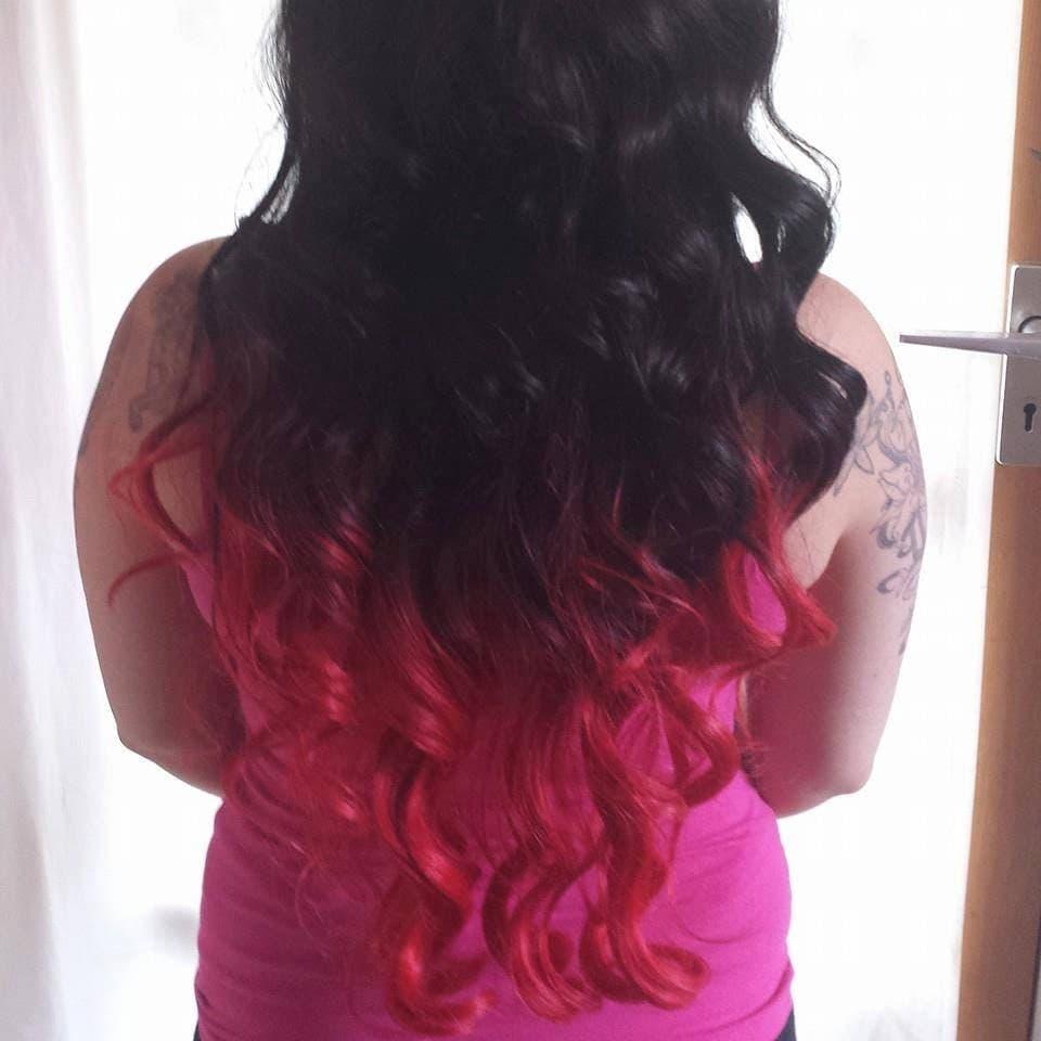 Balayage dip dye 8a remy ombre balayage human halo hair zoom pmusecretfo Images