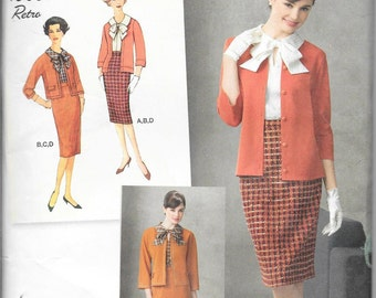 Simplicity #2154 - 1960's Retro Suit in FIVE Sizes - NEVER USED!
