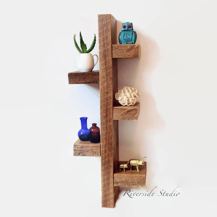 Amazing barn wood shelf 27 rustic cottage shelves - Amazing shelves ...