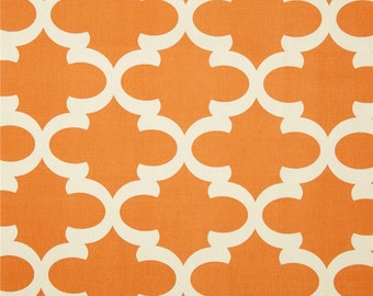 Orange Valance. Window  valance.  Orange  Trellis Valance .Curtain Valence.Custom Valence.