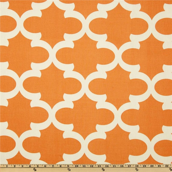 ... valance. Orange Trellis Valance .Curtain Valence.Custom Valence