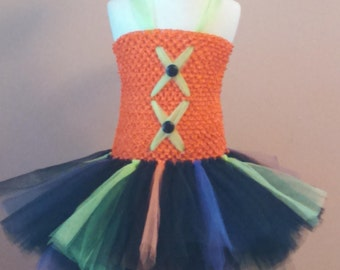 Toddler Witch Costume - Halloween tutu dress -  Comes with a Matching Witch Hat Headband - Toddler Witch Costume - Witch Halloween Costume