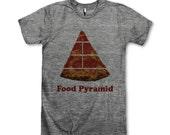 Food Pyramid Pizza
