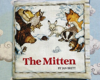 The Mitten Soft Fabric Book
