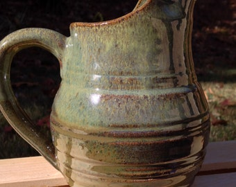 Stoneware - Serving Pitcher