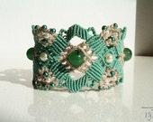 ARABESQUE - macrame bracelet