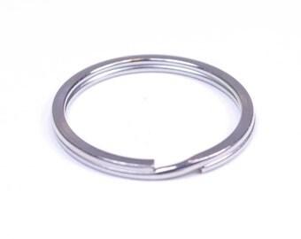 1 Inch Flat Key Ring