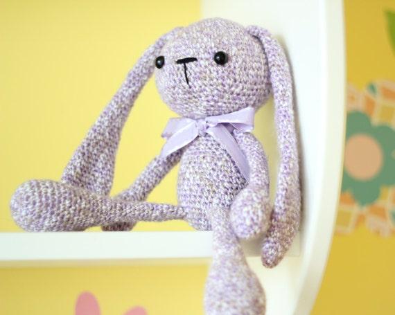 Amigurumi bunny alien bunny rabbit crochet by ...