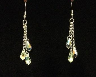 Swarovski Crystal Dangle Earrings!