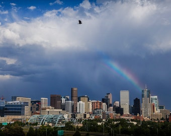 Denver Rainbow: A Photographic Art Print