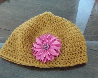 Warm Orange Hat