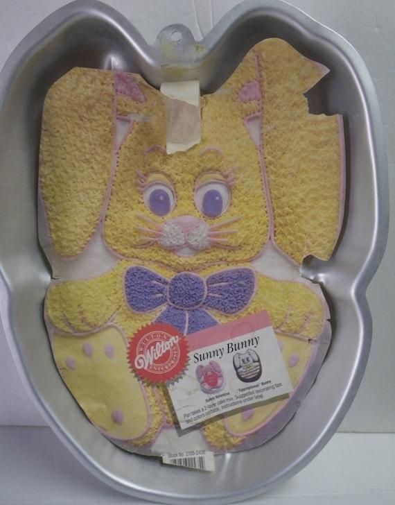 Wilton Easter Cake Decorating Ideas : Wilton Sunny Bunny/Easter Bunny Cake Pan 2105-2435