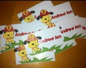 Gift tag for kiddos
