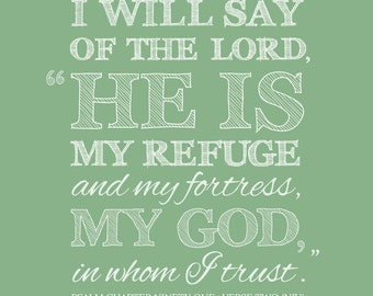 Custom Bible Verse Print