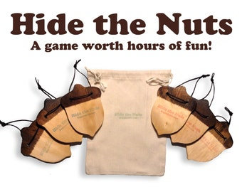 Hide the Nuts is a new game worth hours of fun! Great for everyone!