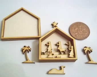 Miniature Dolls House Nativity