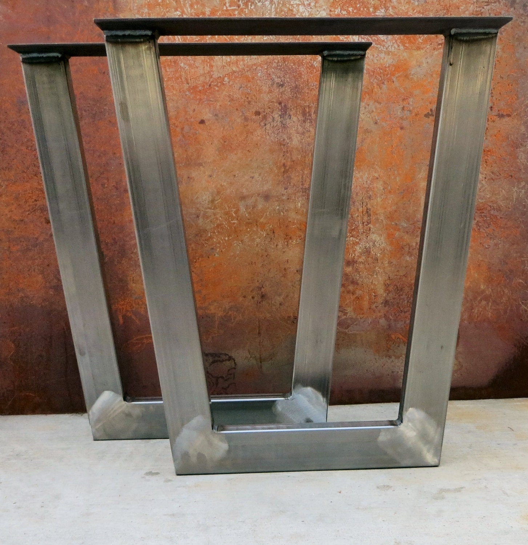 tapered metal table legs 3 39 39 x1 5 39 39 tube. Black Bedroom Furniture Sets. Home Design Ideas