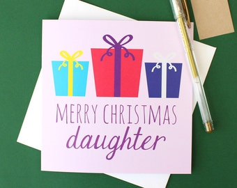 Merry Christmas daughter
