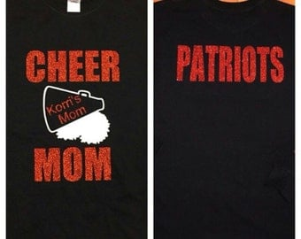 Cheer mom shirt! Made for any team!