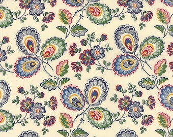 Moda A La Carte Three Flowers (Half metre)