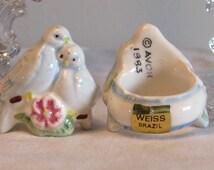 Wedding Candle Rings, Wedding Table Decor, Avon Candle Ring, Taper Candle Ring, Dove Candle Rings, Home Decor, laslovelies