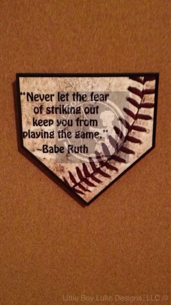 Baseball Decor Baseball Baseball Plaque Home Plate Decor Home Plate Plaque Baseball Home Plate Home Plate Baseball Wall Decor