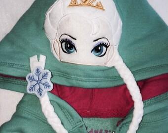 Frozen Elsa Hoodie Jacket
