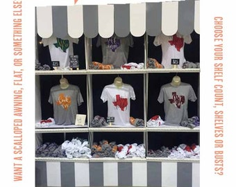 Popular items for trade show display on etsy for Clothing display ideas for craft shows