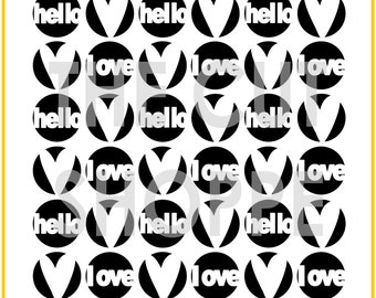 The Hello Love background cut file is availalbe in 8.5x11 and 12x12 sizes, for your scrapbooking and papercrafting projects.