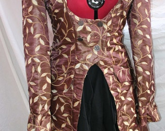 hand made costume coats plus size can be made for other sizes and in other colours. everyday wear events larp cosplay and