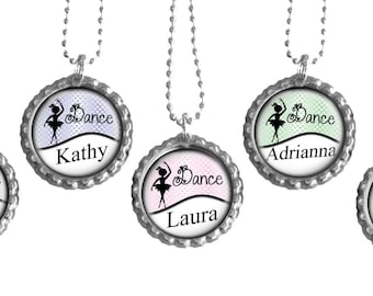 Girls Personalized Ballerina Party Favors Set of 5