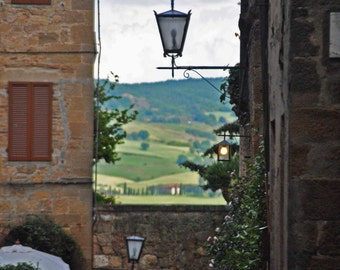 SALE - Tuscany countryside - Landscape and Architecture Photography -Italian Photography -Tuscany photography -Fine Art Photography -Lantern