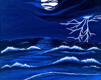 "Artist Signed Print...""Winds of Change"""