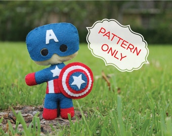 PATTERN: Captain America Doll