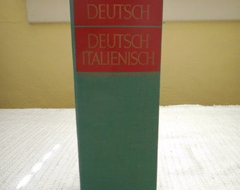 Italian German Translation Dictionary: 1974 by Brockhaus