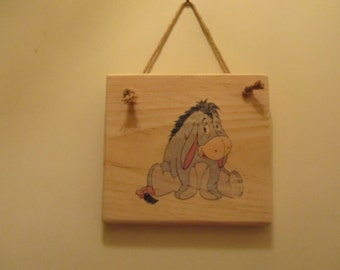 Winnie-the-Pooh Character Sign - Eeyore