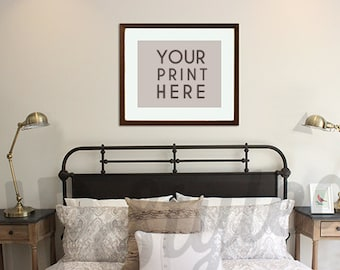 styled photograph bedroom wall art 8x10 or 16x20 frame included product photograph f139